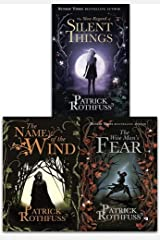 Kingkiller Chronicle Patrick Rothfuss Collection 3 Books Set (The Wise Man's Fear, The Slow Regard of Silent Things, The Name of the Wind) Paperback