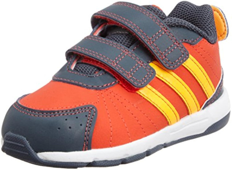 Adidas - Adidas Snice 3 CF I Scarpe Bambino Arancio Pelle Strappi M20085 - Naranja, Intel Core 2 Duo para 1,8...