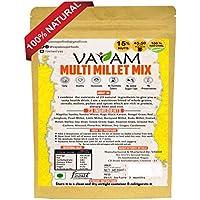 Vayam Health Mix Powder (480gm) - 100% Natural Multi Millet Mix - NO preservatives / NO Synthetic Colors / NO Added Sugar