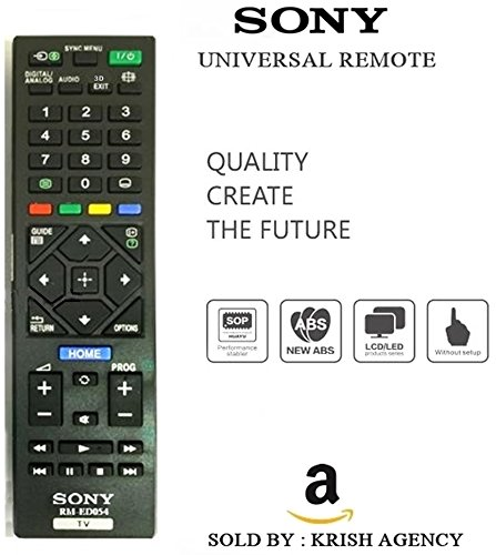 SONY LED/LCD Universal Remote (Works With All SONY Led/Lcd's)  available at amazon for Rs.335