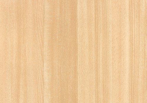 alkor DecoDesign F3800004 Selbstklebefolie, Folienmaß 45 x 200 cm, Dicke 0, 11 mm, Natur