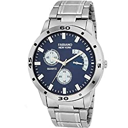 Fabiano New York Analogue Blue Dial Mens Boys Watches FNY089