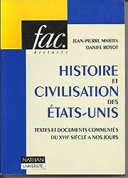 Histoire et civilisation des Etats-Unis