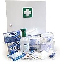 Professioneller Erste-Hilfe-Schrank, Medizin-Schrank, Premium-Metall-Verbandschrank in weiß für die Lebensmittelindustrie... preisvergleich bei billige-tabletten.eu