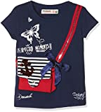 Desigual Ts_earwig, T-Shirt Fille, Bleu (Navy 5000), 7/8 ans ( Taille fabricant : 128 )