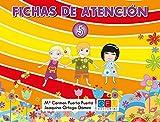 Fichas de atención 5 / Editorial GEU / Educación Infantil / Mejora la concentración del niño/a / Recomendado como apoyo y refuerzo / Actividades varias