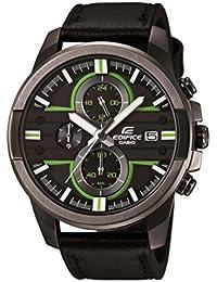 Casio Herren-Armbanduhr Edifice Analog Quarz Leder EFR-543BL-1AVUEF