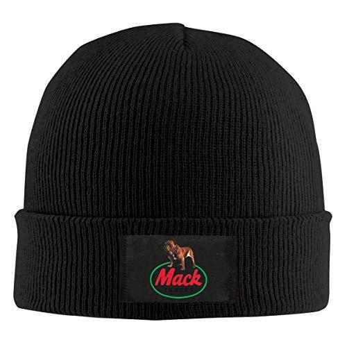 Abfind Mack Trucks Beanie Mütze Winter Warm Knit Skull Hat Cap für Erwachsene Unisex Schwarz