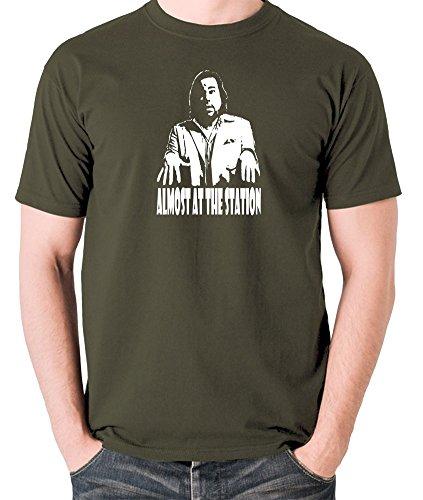 Revolution Ape Herren T-Shirt Grün Grün Gr. M, Grün - Olive -