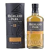 Highland Park 12 años Whisky escocés de malta simple (1 x 0,7 l)