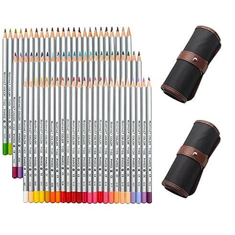 NIUTOP 72 Farben Buntstifte Farbstifte von Marco Raffine Set mit