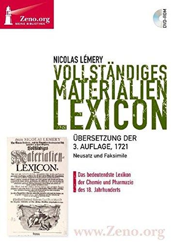 Zeno.org 013 Lemery: Vollständiges Materialien-Lexicon (Materialien Chemische)