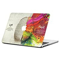 """HERNGEE Bran 1, Left Right Brains Decal (13.3"""" Pro with Retina Display)"""