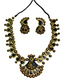 #8: SajhGharana Multi-Color Terracotta Necklace Set for Women (WA0081)