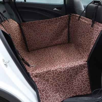 kmatte Für Hunde Universal Für Alle Autos, SUV, Vans & Trucks Kfz-Schutzhülle Für Einen Sitz Wasserdicht 120 * 145Cm,Brown ()