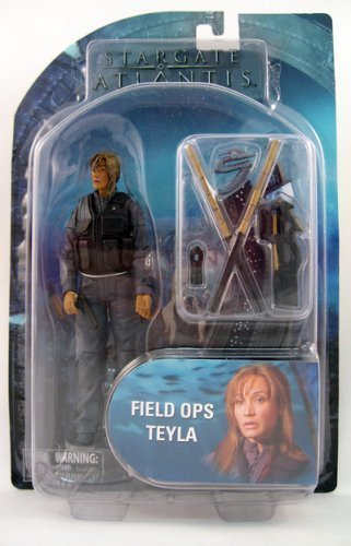 Diamond Select Toys Stargate Atlantis Series 2 Action Figure Field Ops Teyla by Diamond Select Toys (English Manual), Figurines
