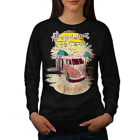 Vacation Travel Holiday Women L Sweatshirt | Wellcoda