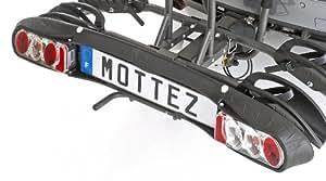 mottez a063fxl kennzeichenplatte f r fahrradtr ger auf anh ngerkupplung auto. Black Bedroom Furniture Sets. Home Design Ideas