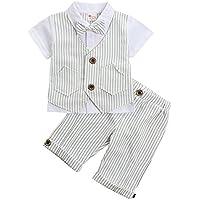 Baby Anzug festlich dunkelblau weiß rot Weste Strampler Smoking Gr 68//74