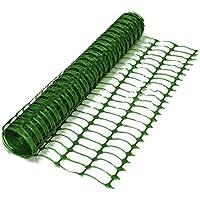 Oypla Heavy Duty Green Safety Barrier Mesh Fencing 1mtr x 15mtr