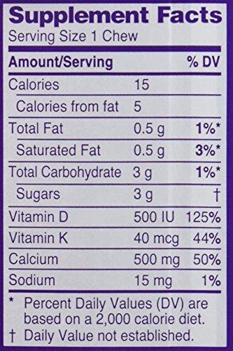 Viactiv Calcium Plus D, Milk Chocolate, 100 Soft Chews
