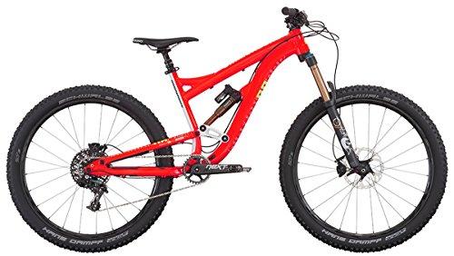 """DiamondBack Mission Pro - Bicicleta de enduro, color rojo, 15"""""""