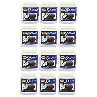 12 X 500ml Jar KTC 100% Pure Coconut Oil Multipurpose Oil Hair Cooking Moisturiser