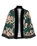 HALLHUBER Kimono-Jacke mit Blumendruck gerade geschnitten Multicolor, 38