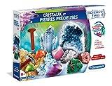 Clementoni- Science & Jeu-Cristaux et Pierres précieuses, 52345, Multicolore