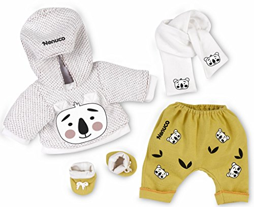 Nenuco Babypuppe Pack Geschenkeset deluxe für Puppen von 35cm Sweatshirt + Schal + Hose + Preisvergleich