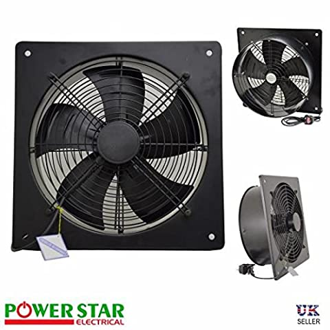 Metal Industrial Ventilation Extractor Axial Exhaust Commercial Air Blower Fan (10