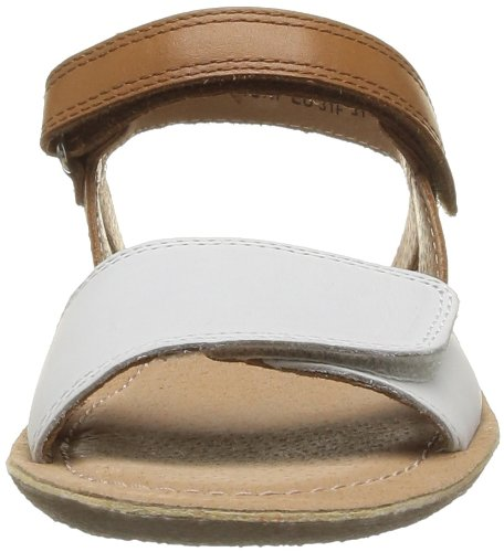 Start Rite Vanda, Sandales fille Beige (Cream/Tan Leather)