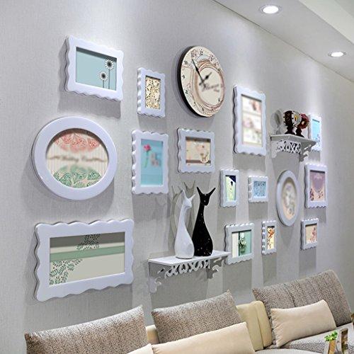 Lack-rahmen (Asl Papier-Rahmen A Wand kreative Kombination Wohnzimmer Schlafzimmer Photo Wall Wall Rahmen Kombination von Kristall lack immer Wunderschöne wie neue Happy B)