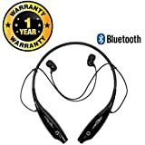 Rhobos HBS-730 Bluetooth Stereo Sports Headset Compatible with Xiaomi, Lenovo, Apple, Samsung, Sony, Oppo, Gionee, Vivo Smartphones (One Year Warranty)