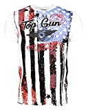 Top Gun Herren T-Shirt Logo Spirit XL