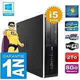 HP PC Compaq 8300 SFF Core I5-2400 Ram 8 GB disco 2 TB masterizzatore DVD WiFi W7 (ricondizionato)