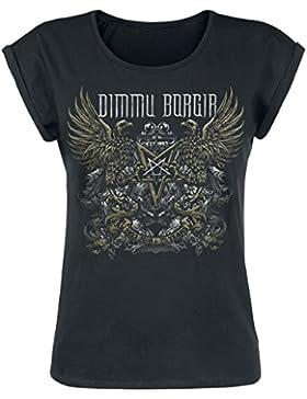 Dimmu Borgir 25 Years Camiseta Mujer Negro