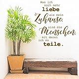 """Wandtattoo Sprüche """"Liebe - Familie - Zuhause"""""""