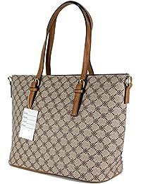 7fe96b900d Borsa donna a spalla grande capiente tote bag shopper elegante da lavoro  con tracolla moda 2018