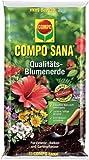 Compo Qualitäts-Blumenerde ,,COMPO SANA®' 11184 Blumen Erde Cs 70