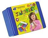 Feuchtmann Spielwaren 6280318 - Juniorknet Knete Maxi Box, 14 Stangen in Vorratsbox