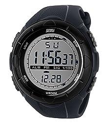 SKMEI Men's SK1025A Digital Sports Watch Grey