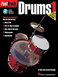 Fast Track Drums Book One Book/Cd