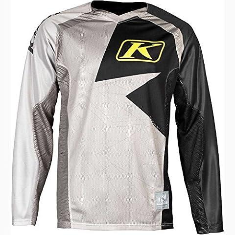 Klim Mojave Men's Off-Road/Dirt Bike Jersey - Black / Large