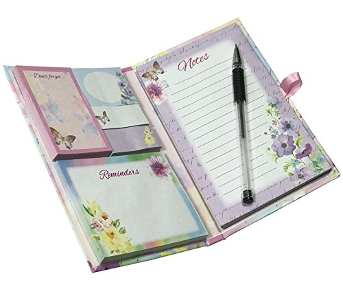 SEPAL Multi-function, Self Page Marker Sticky Notes Sets With Portable Personalized Diary Style Notepads With Pen