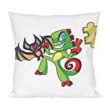 Yooka Laylee Puzzle Pillow