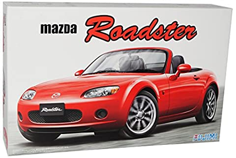Mazda MX-5 NC Cabrio 3. Generation 2005-2015 Kit Bausatz 1/24 Fujimi Modell Auto mit individiuellem (Modellauto Mazda Mx 5)