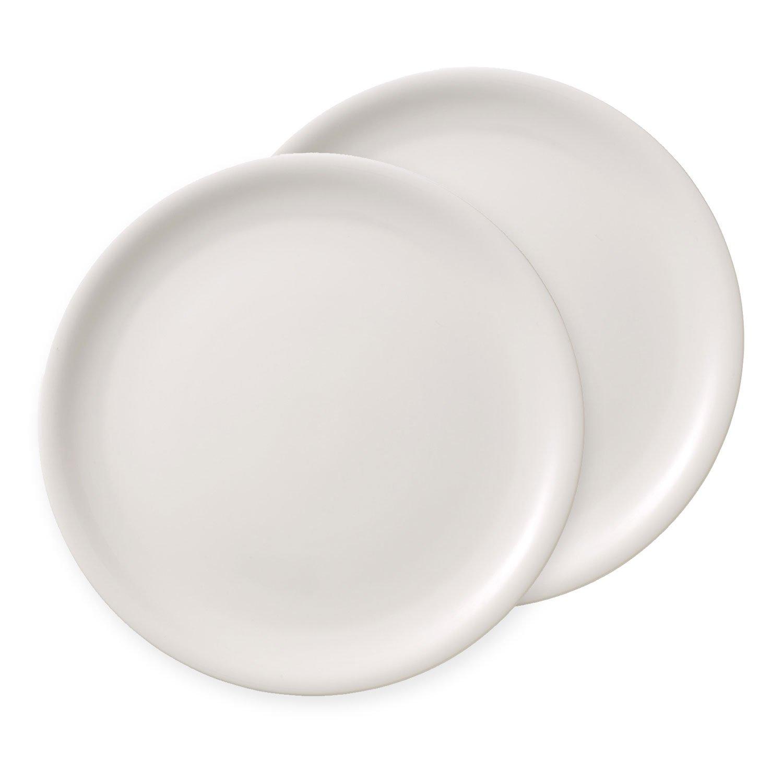 villeroy boch dune assiette pizza vaisselle en haute qualit premium porcelain 2 2 pi ces. Black Bedroom Furniture Sets. Home Design Ideas