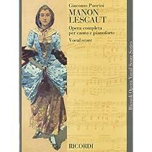 Manon Lescaut: Vocal Score