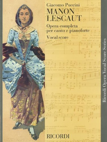 Manon Lescaut: Vocal Score